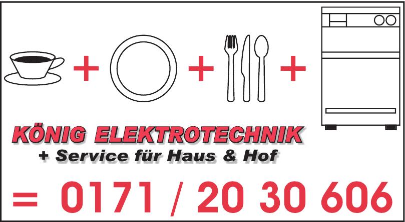 König Elektrotechnik + Service für Haus & Hof