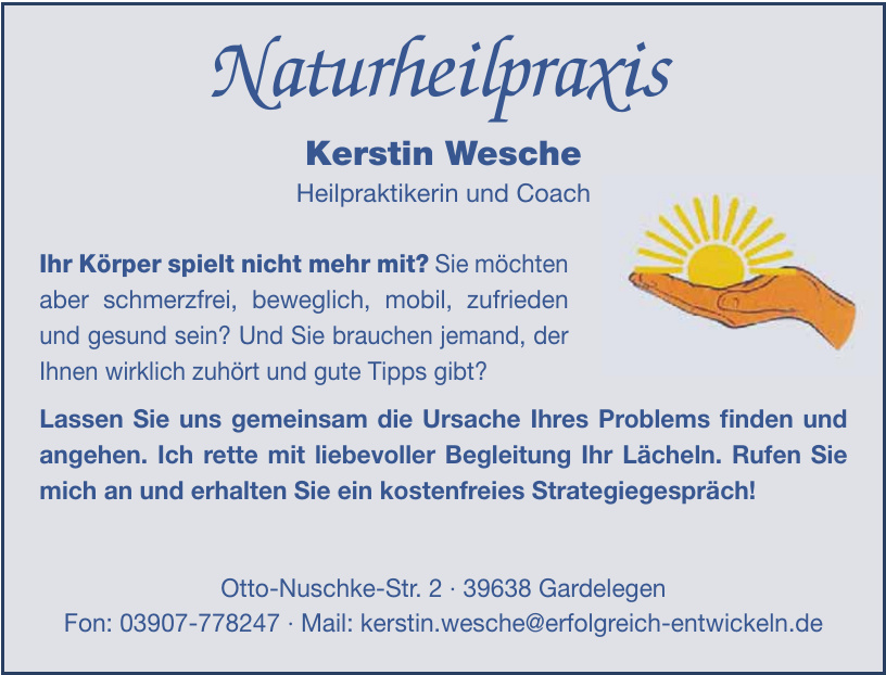 Naturheilpraxis Kerstin Wesche