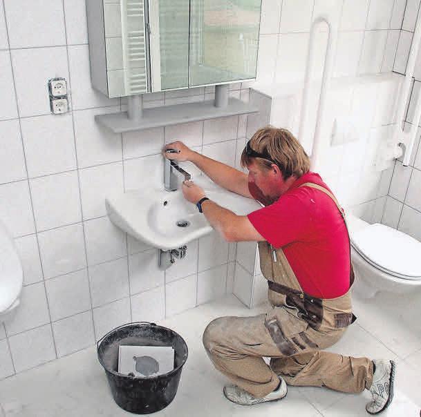 Badsanierungen sollten Experten planen. Foto: tdx/Wüstenrot
