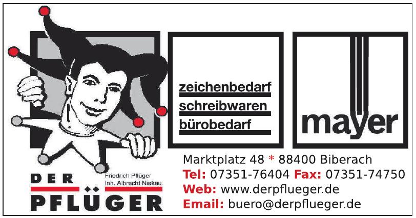 Schreibwaren Mayer & Friedrich Pflüger