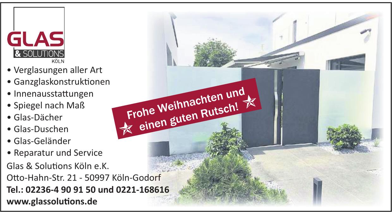 Glas & Solutions Köln e.K.