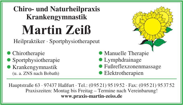 Martin Zeiß