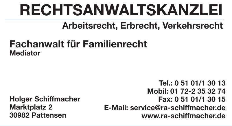 Rechtsanwaltskanzlei Holger Schiffmacher