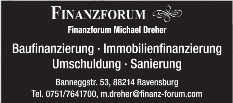 Finanzforum Michael Dreher