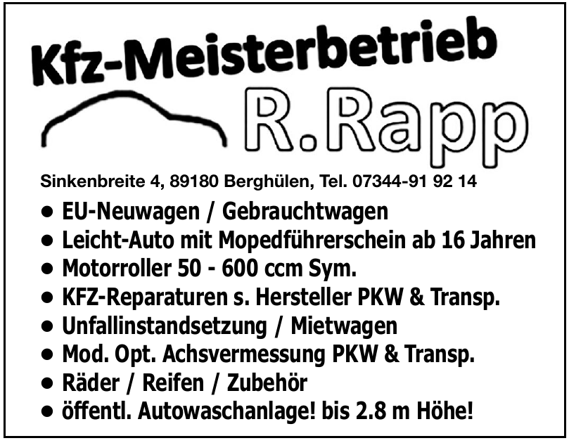 R. Rapp