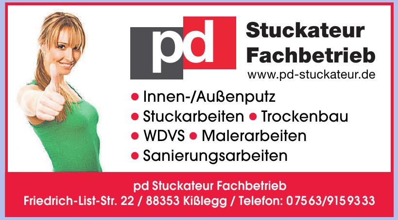 pd Stuckateur Fachbetrieb
