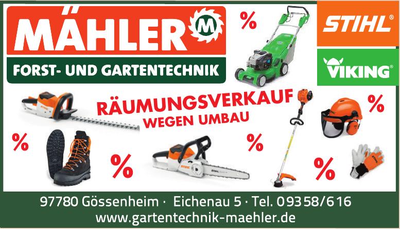 Mähler Forst- und Gartentechnik