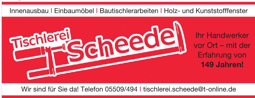 Tischlerei Scheede