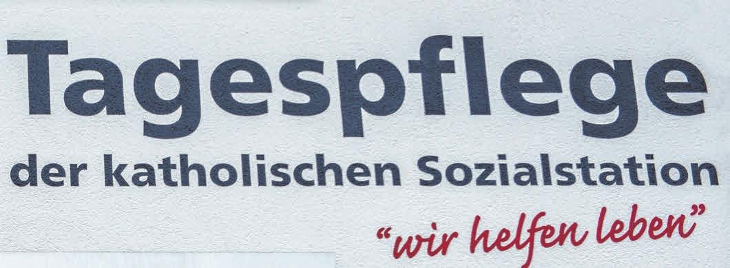 """Das Motto der Katholischen Sozialstation, das selbstverständlich auch in der Riedlinger Tagespflege gelebt wird, lautet """"Wir helfen leben"""". FOTO: WERNER"""