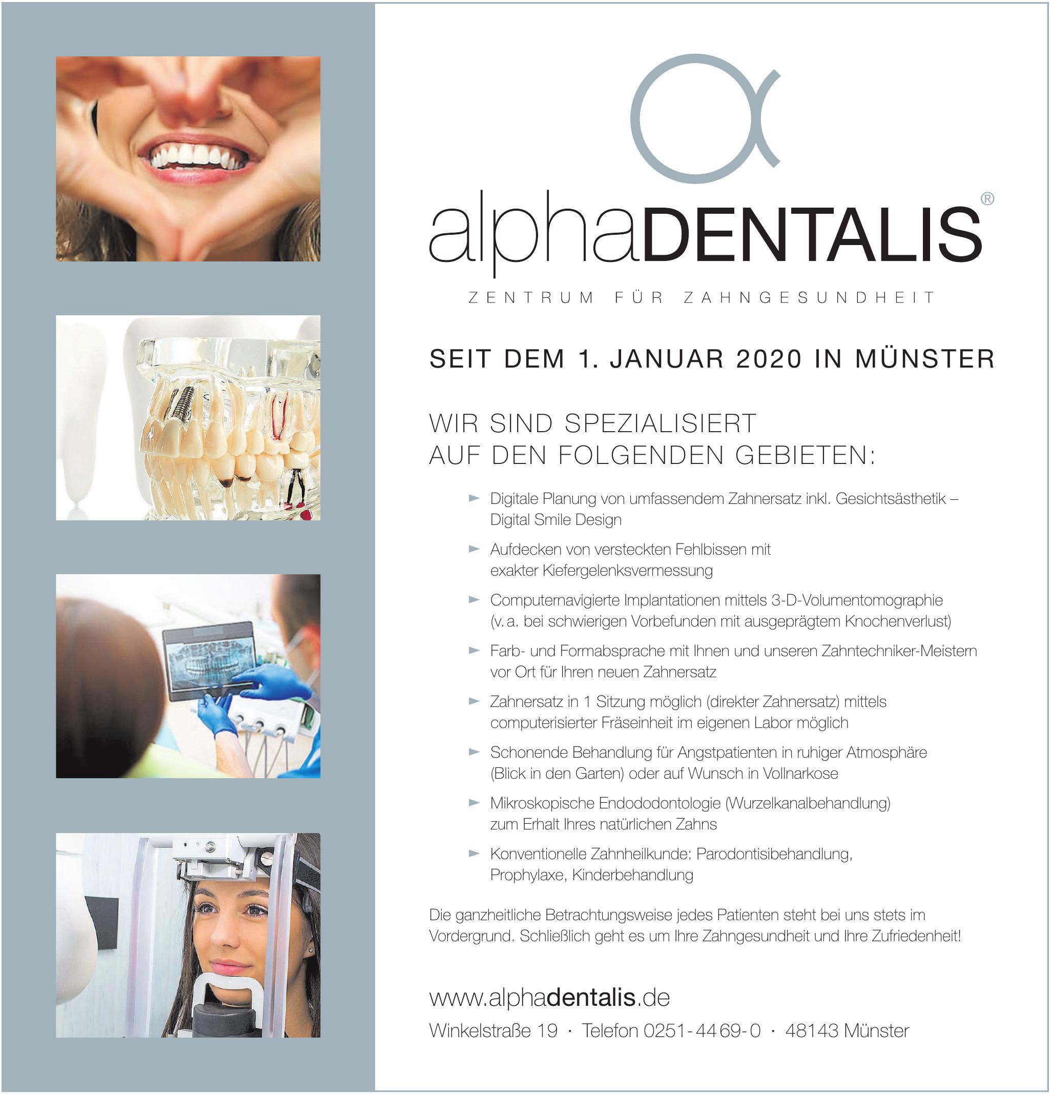alphaDENTALIS Zentrum für Zahngesundheit
