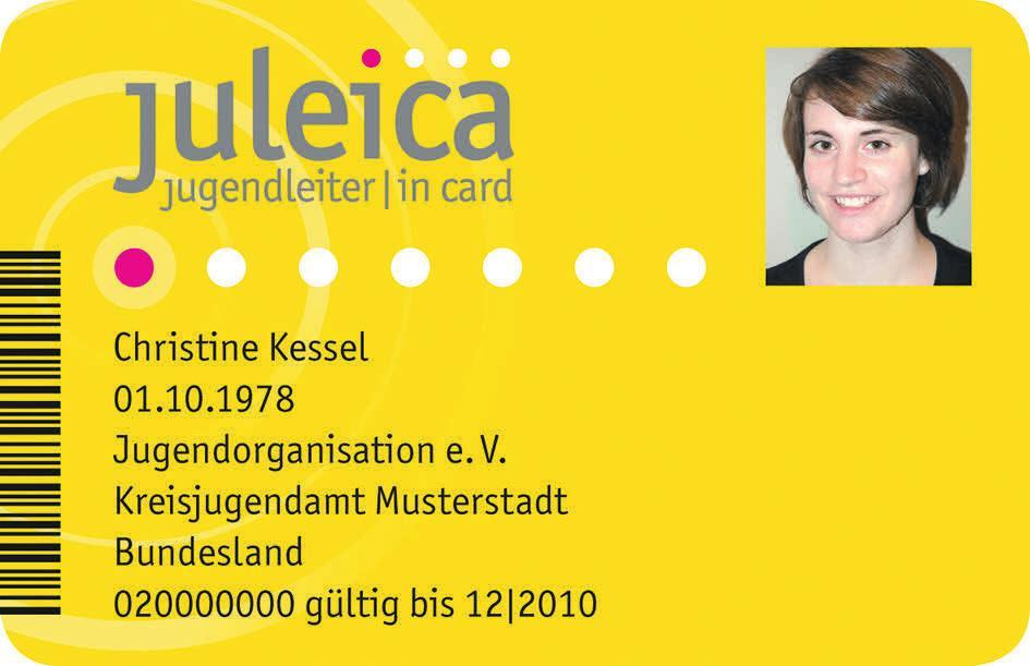 Die Jugendleiter/in-Card (Juleica) ist der bundesweit einheitliche Ausweis für ehrenamtliche Mitarbeiter/innen in der Jugendarbeit Fotos: cc