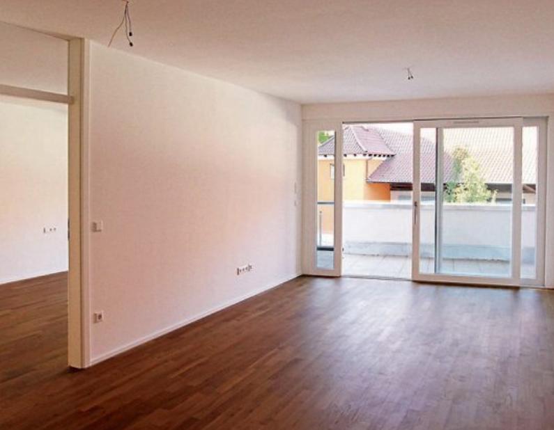 Die hellen Wohnungen mit großen Fensterelementen zeichnen sich durch individuelle Grundrisse aus.
