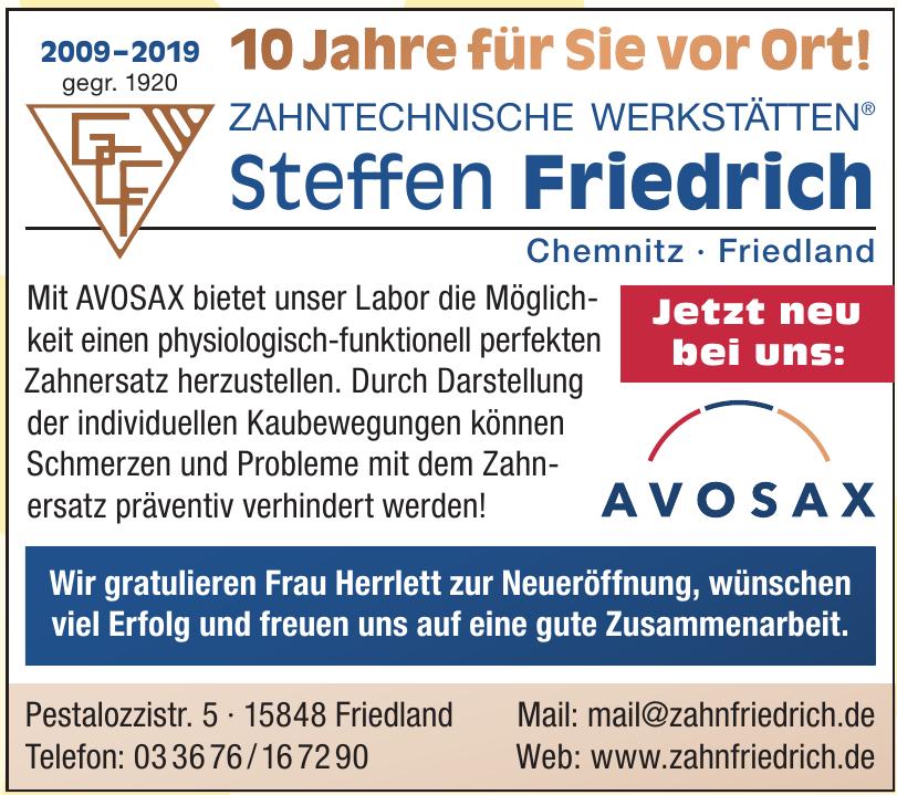 Zahntechnische Werkstätten Steffen Friedrich
