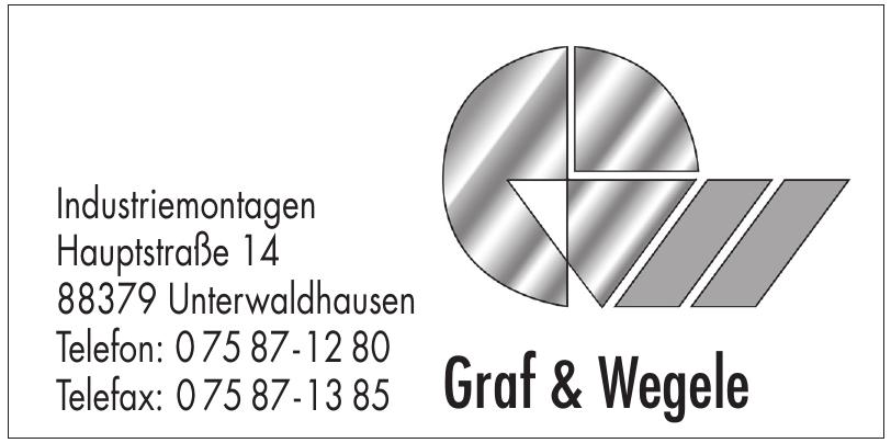 Industriemontagen Graf & Wegele