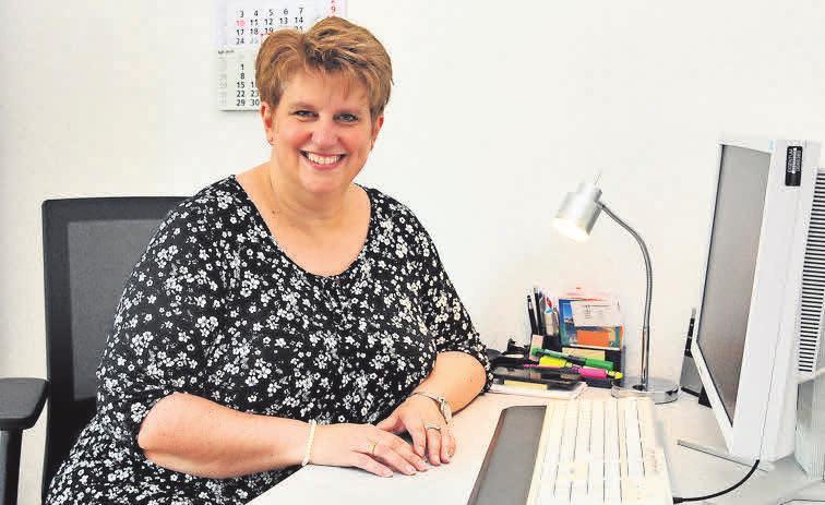 Tanja Korpiun ist für die Büroorganisation und die Buchhaltung zuständig.