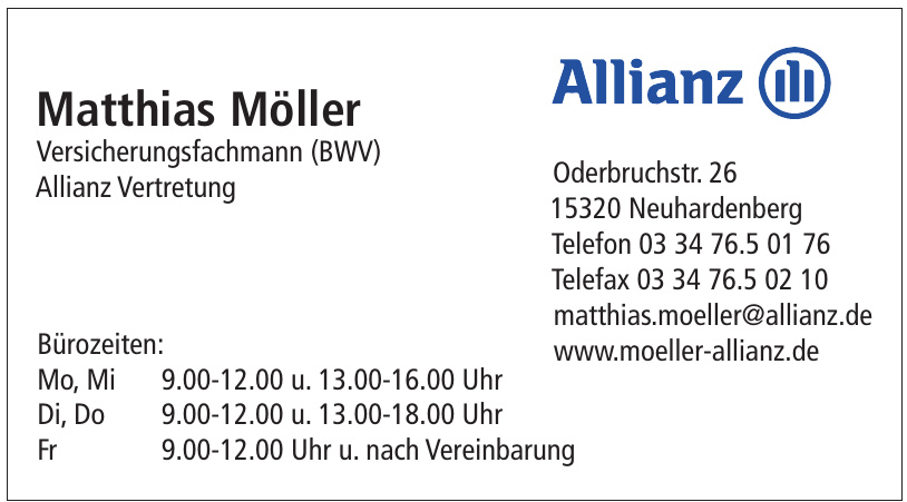 Allianz - Matthias Möller