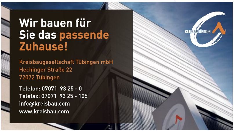 Kreisbaugesellschaft Tübingen mbH