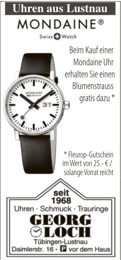 Georg Loch - Uhren, Schmuck, Trauringe