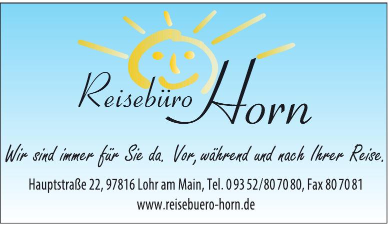 Das Reisebüro Horn