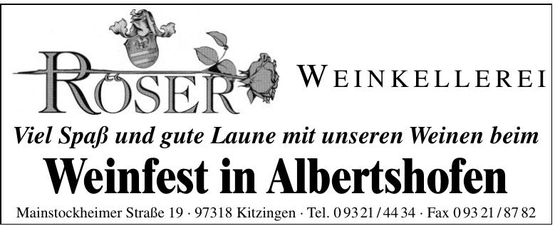 Roser Weinkellerei