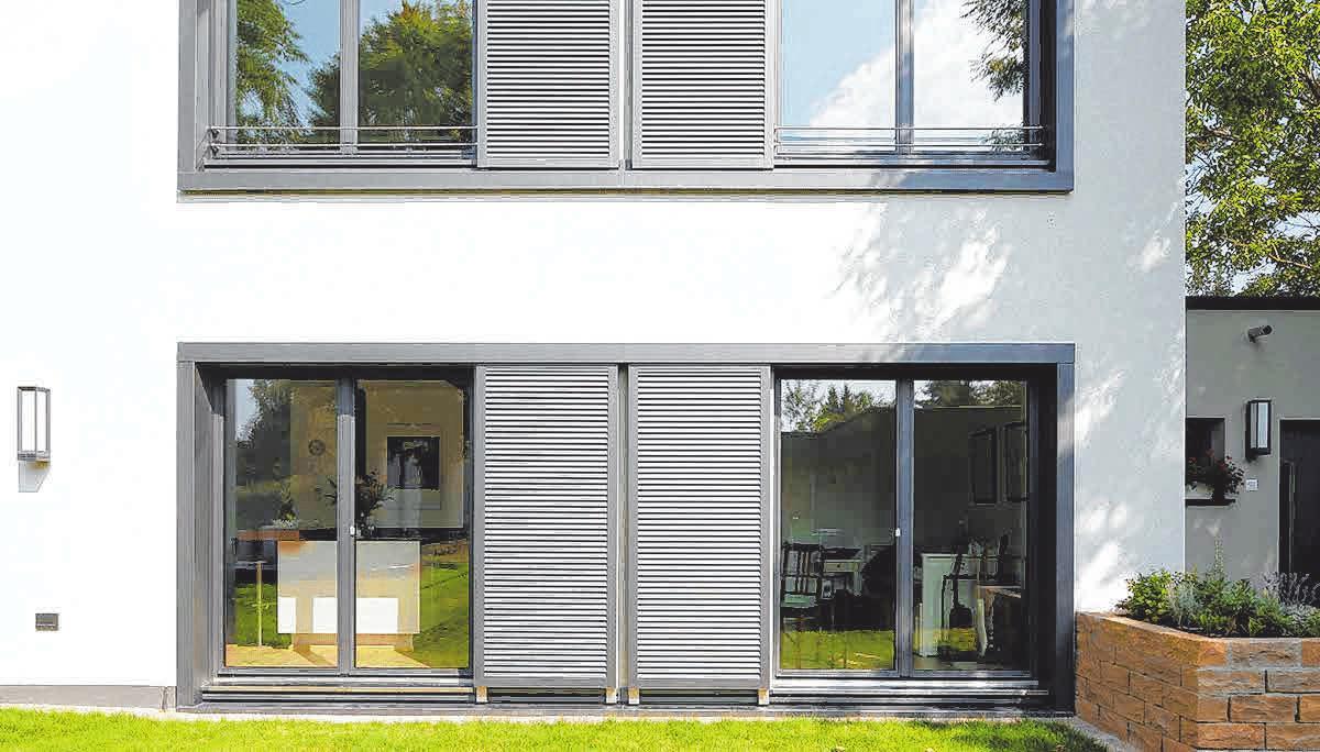 Bodenhohe Fenster - auch 2019 im Trend. FOTOS: PR