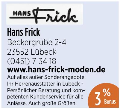 Hans Frick