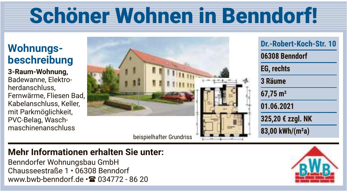 Benndorfer Wohnungsbaugesellschaft mbH