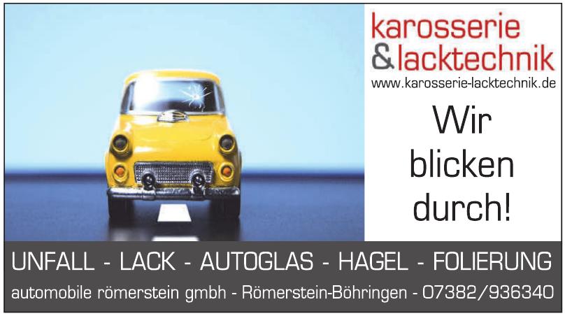 Automobile Römerstein GmbH Karosserie & Lacktechnik