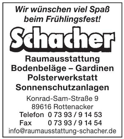 Raumausstattung Schacher