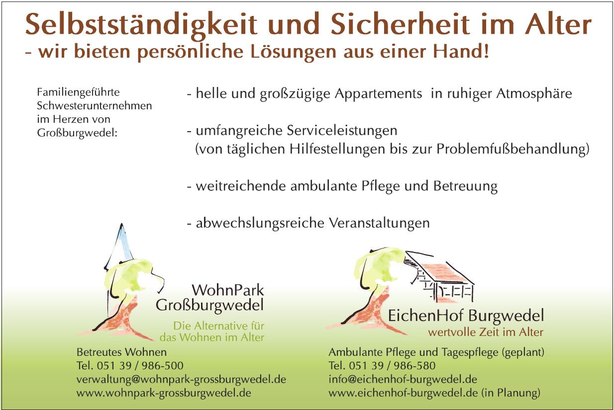 WohnPark Großburgwedel - Betreutes Wohnen