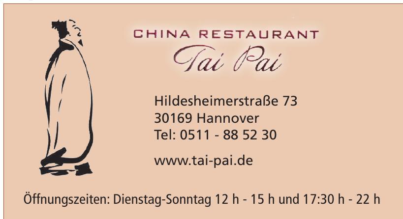 China Restaurant Tai Pai