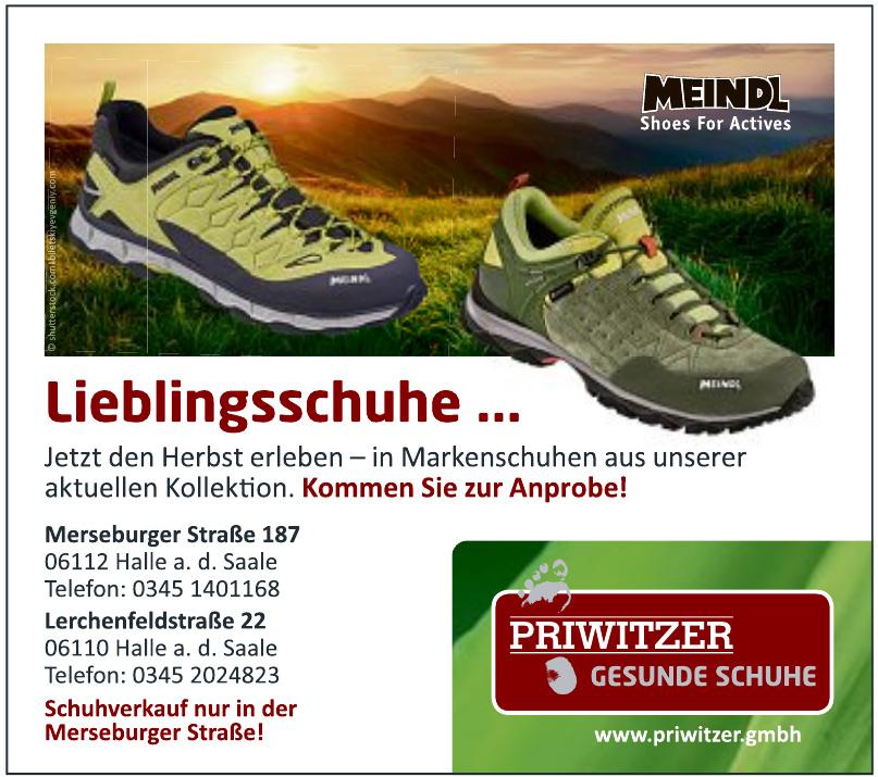 Priwitzer Gesunde Schuhe