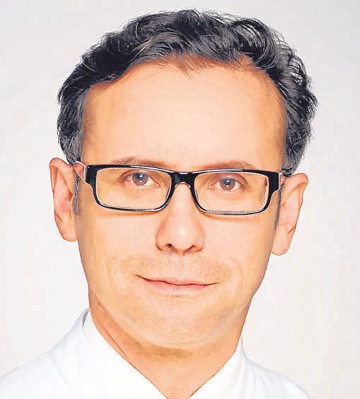 Professor Dr. Salvatore Grisanti, Direktor der Klinik für Augenheilkunde am UKSH.