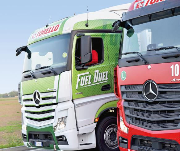 The company uses a modern fleet – 85 percent of the vehicles meet the Euro 6 standard.
