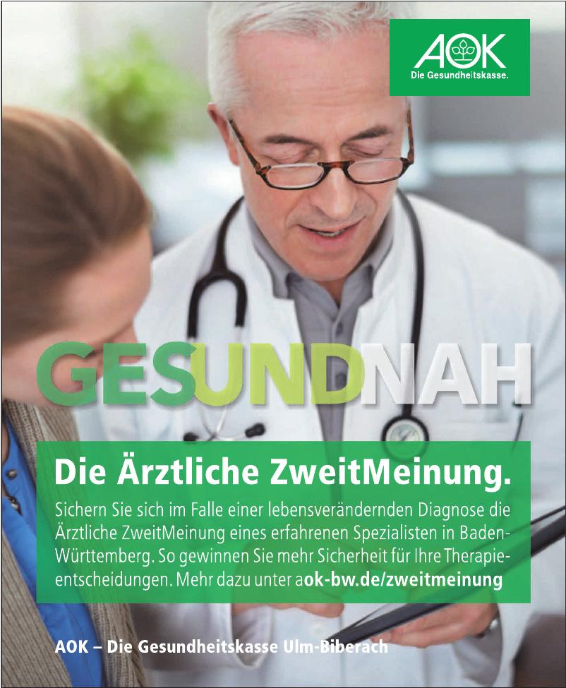 AOK - Die Gesundheitszentrum Ulm-Biberach