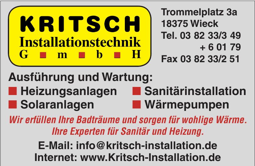 Kritisch Installationstechnik GmbH