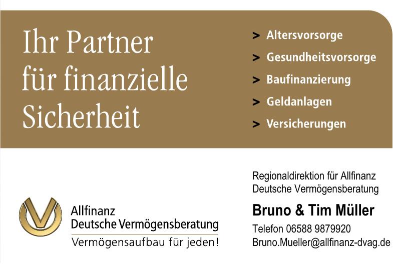 Allfinanz Deutsche Vermögensberatung Bruno & Tim Müller