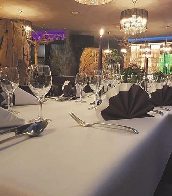 Im Restaurant Tunici werden gern auch Feiern mit bis zu 80 Personen ausgerichtet
