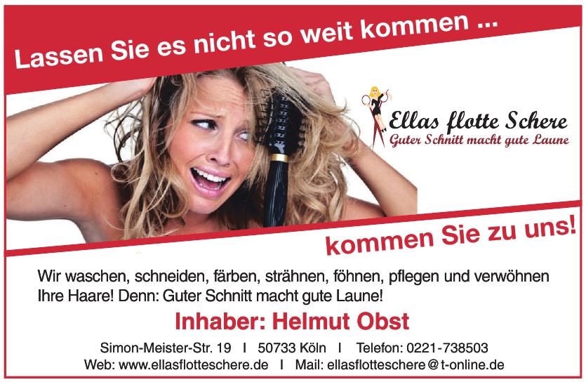 Ellas flotte Schere - Helmut Obst
