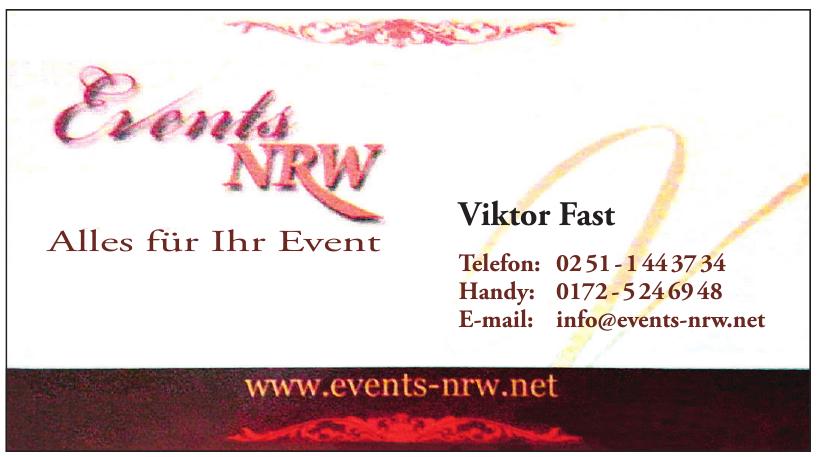 Events NRW
