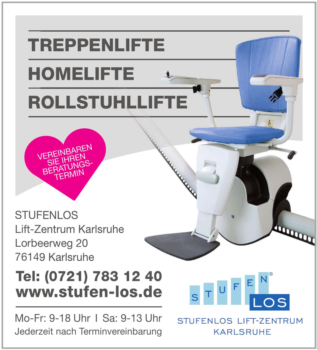 Stufenlos Lift-Zentrum Karlsruhe