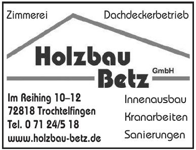 Holzbau Betz GmbH