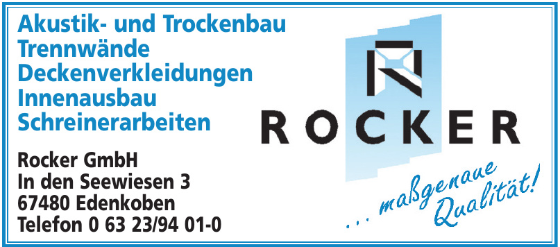 Rocker GmbH