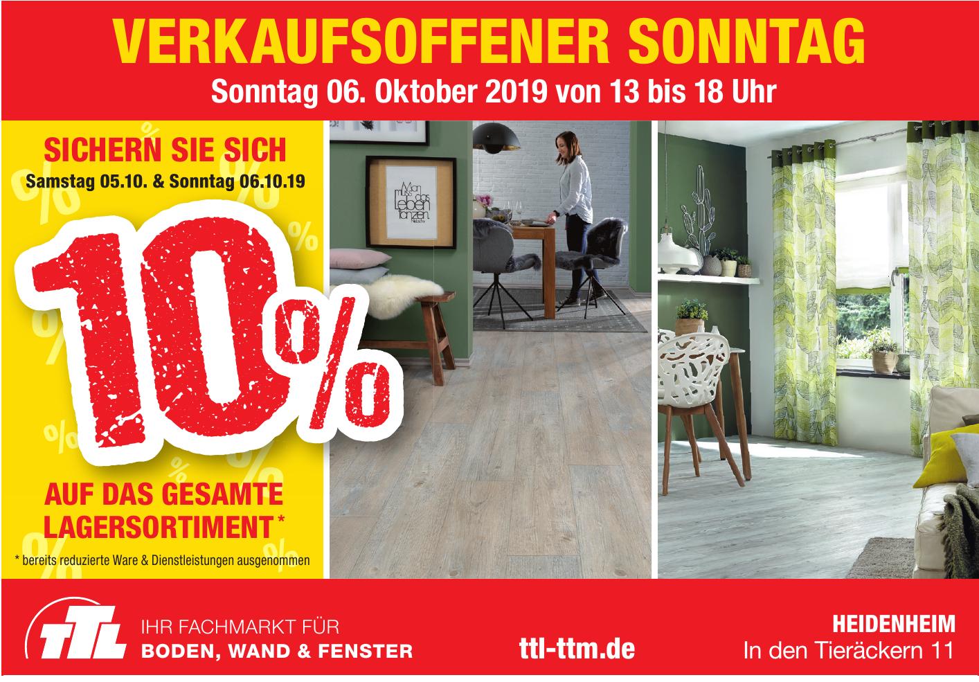 TTL Boden, Wand & Fenster