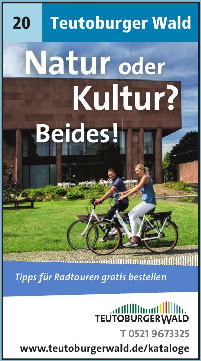 Teutoburger Wald Tourismus