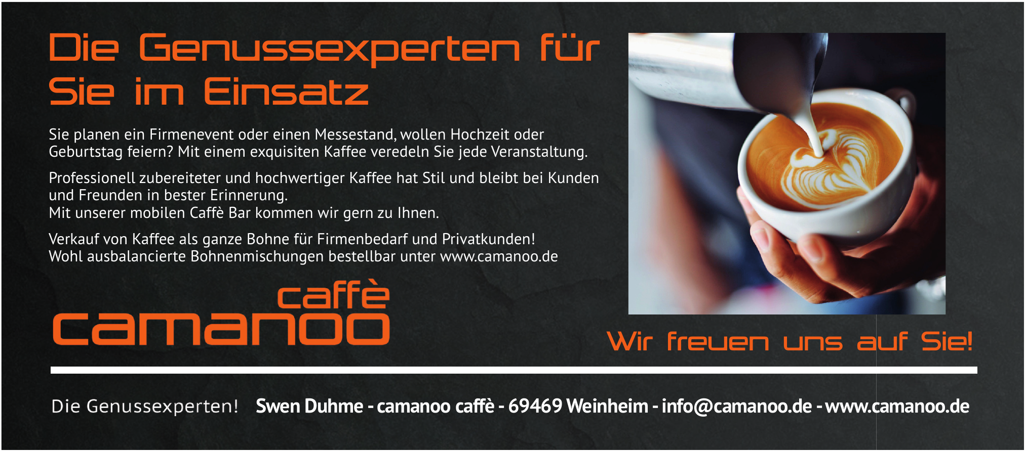 Swen Duhme - camanoo caffè