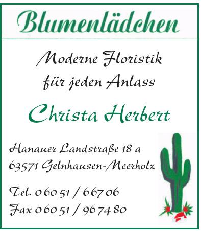 Blumenlädchen Christa Herbert