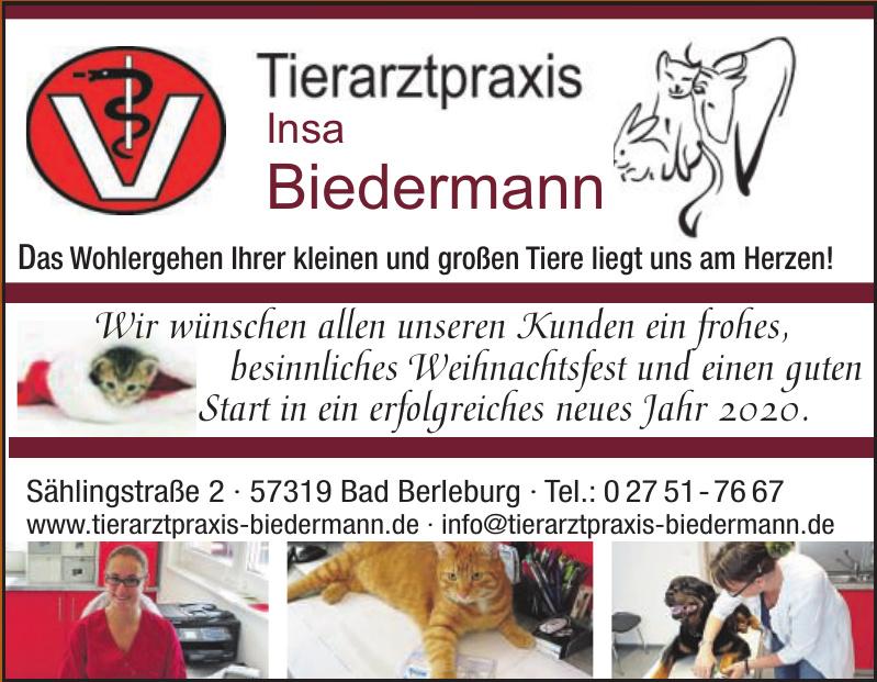 Tierarztpraxis Insa Biedermann