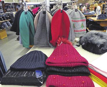 Kuschelige Accessoires für den Winter.