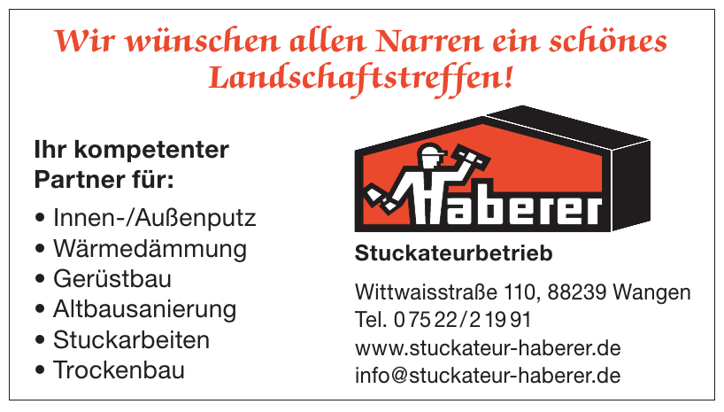 Haberer Stuckateurbetrieb